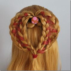 Hairstyles for Valentine's Day. We women, we want to look irresistible in the Valentine's Day, right? We want to be confident, sexy and romantic to see us and we want our man admire us. Simple