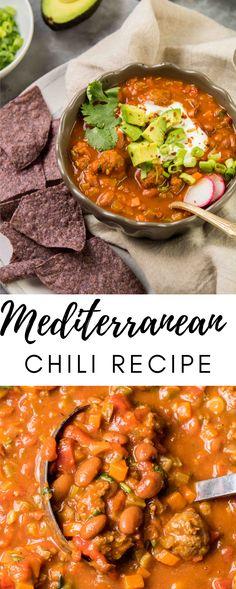 Best Gluten Free Recipes, Fall Recipes, Healthy Recipes, Delicious Recipes, Healthy Food, Mediterranean Spices, Chili Recipes, Soup Recipes, Recipes