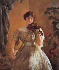 ♪ The Musical Arts ♪ music musician paintings - Joseph Rodefer DeCamp