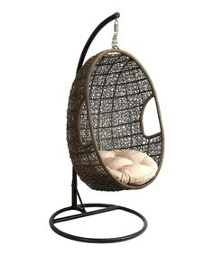 Woven Chair Swing: always loved these  chairs!