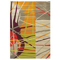 Carpette « Topaz » tissée à la machine (5.3x7.7pi) de Kalora