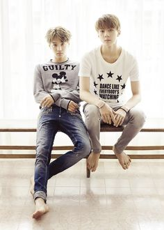 Kai and Sehun - Grazia Magazine August Issue '14