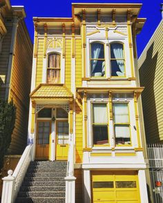 """This part of San Francisco is definitely part of the """"Golden"""" state."""