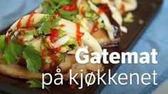 15 oppskrifter på street food – gatemat - NRK Mat – Oppskrifter og inspirasjon Dinner Side Dishes, Dinner Sides, Street Food, Tacos, Pizza, Ethnic Recipes