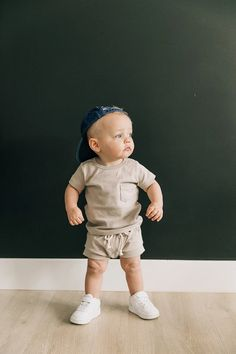 Cute Baby Boy Outfits, Boys Summer Outfits, Little Boy Outfits, Summer Boy, Toddler Boy Outfits, Cute Baby Clothes, Little Boy Style, Little Boys Clothes, Stylish Baby Girls
