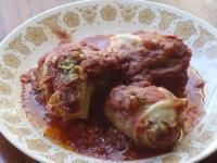 Golabki Recipe  (Polish stuffed cabbage rolls)