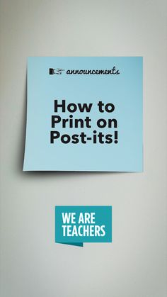 How to Print on Post-Its, Plus Free Templates for Rubrics, Observations and More,Classroom DIY The ultimate teacher hack! How to Print on Post-Its Free templates for rubrics, observations & more! Life Hacks For School, School Study Tips, College Study Tips, High School Hacks, College Hacks, School Tips, Teacher Hacks, Teacher Office, Office Fun