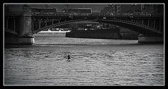 l'aviron sous le pont de fragnée