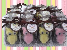 Owls soaps Party favors Baby shower  Soap owls owls by BBSoaps, $1.85
