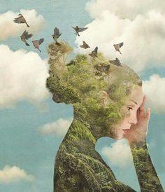 Una splendida immagine di Daria Petrilli  per un progetto editoriale di prossima pubblicazione.