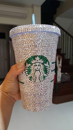 Swarovski Crystal Starbucks Cold Cup/Mug More