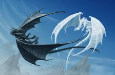 Dragons, Work In Progress 4 by ~Eclectixx on deviantART