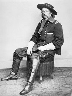 Geo Custer by Matthew Brady