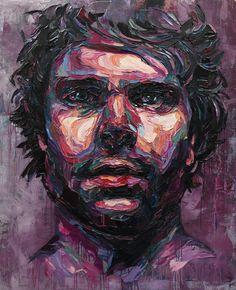 Amazing Portrait Oil Paintings by Josh Miels