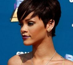 Best Short Natural Shag Bob Hairstyles for African American