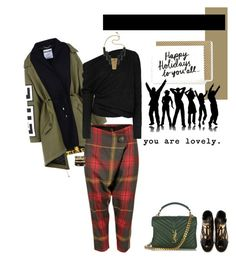 """Inverno in città"" by piccolauby ❤ liked on Polyvore featuring Moschino, Vivienne Westwood Anglomania, Tom Ford, Yves Saint Laurent, Roberto Cavalli and Ashley Pittman"