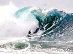 National Geographic  -  Surfing the Wedge, California ~   Photograph by Benjamin C. Ginsberg