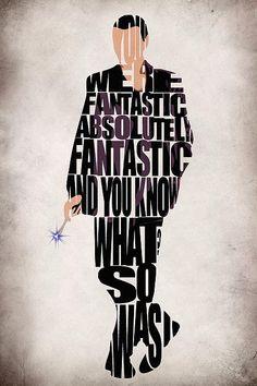 Ninth Doctor - Doctor Who Print By Ayse Deniz