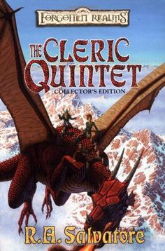The Cleric Quintet Collector's Edition [Forgotten Realms] by R.A. Salvatore. $13.57. Publisher: Wizards of the Coast; Collectors edition (January 1, 2002). Author: R.A. Salvatore