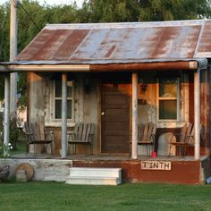 The Tinth Shack at the Shack Up Inn in Clarksdale, MS. by leigh