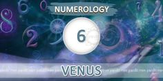 """ Numerology Number 6 "" by Numerologist Rahul Kaushal  -------------------------------------------------------- Numerology Number 6: This number is governed by the planet of love, Beauty & Romance as well as art i.e. Venus . All those born on 6th, 15th, 24th of a month are under the control of this planet. These people have a very bright & attractive outlook with neat & clean clothes. They are strong and conscious about their physical appearance…"