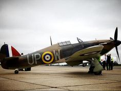Hurricane Mk I - 75 years ago: The Battle of Britain - Pictures - CBS News