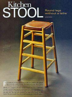 Bar Stool Plans - Furniture Plans