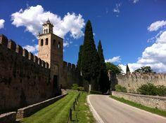 Castello di San Salvatore sec. XIV . Susegana  Treviso,  Veneto . Fdf