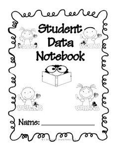 Student Data Notebook with Common Core Checklists - Ms. Smarty Pants - TeachersPayTeachers.com