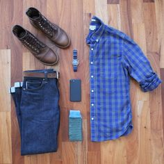 11 Smart Outfit Grids For Stylish Guys - Neil Adams Photography Casual Wear, Casual Outfits, Men Casual, Mode Outfits, Fashion Outfits, Look Fashion, Mens Fashion, Look Man, Outfit Grid
