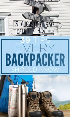 The world is big, but your suitcase doesn't have to be. Backpacking tips