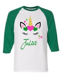 Unicorn St. Patrick's Day Shirt