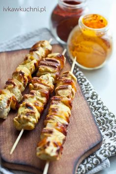 grill Poultry, Sausage, Grilling, Appetizers, Chicken, Pierogi, Recipes, Food, Per Diem