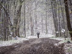 A race to be remembered: the 2016 Highlands Nordic Ontario Cup. What. A. Day. #snow #mud #cold #cycling #mtb #bike #race #biking (  cred: @m_solic ) by byjayennis