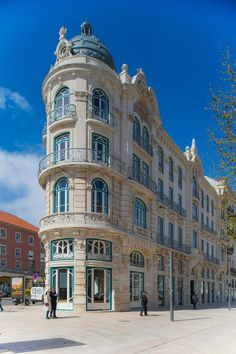 One of Lisbon's most architecturally impressive hotels, the Art Nouveau edifice was originally built in 1908 by architect Adães Bermudes as luxury apartments and converted into a hotel in 2017. It offers 36 clean-lined rooms, a bar and the Infame Restaurant with an original and tasty menu. Excellent staff!