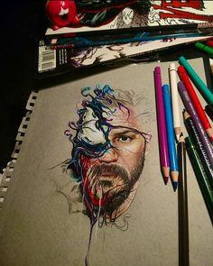 494 mentions J'aime, 15 commentaires – Chris Skinwalker Art (@skinwalker_art) sur Instagram : « We are..... #venom #eddiebrock #wearevenom #venommovie #symbiote #tomhardy #tomhardyfans #marvel… »