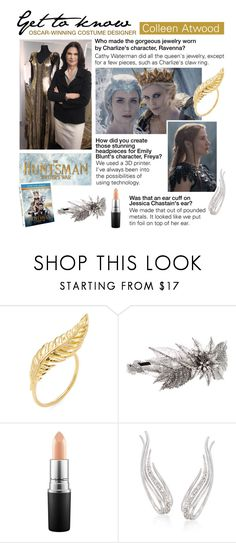 """Get to Know: Colleen Atwood, Oscar-Winning Costume Designer"" by polyvore-editorial ❤ liked on Polyvore featuring Jacquie Aiche, Erickson Beamon, MAC Cosmetics, Ross-Simons and BeforeSnowWhite"
