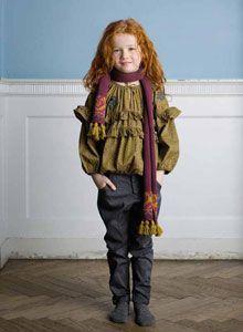 noa noa miniature girls clothes denmark winter 2012