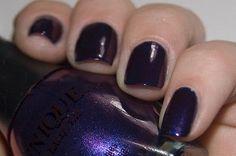 NEW VENIQUE Nail Polish Lacquer in STILETTOS GONE TIPSY ~ Purple Shimmer