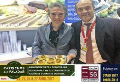 ¿ Sabías qué Ramoncín estuvo ayer en nuestro Stand 8H17 en la Feria Salón de Gourmets en Madrid y degustó nuestro vegetales gourmets? ven tú también, último día de feria ¡ anímate !