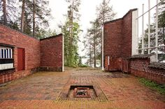 Experimental House in Muuratsalo by Alvar Aalto