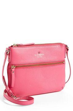 Cute pink crossbody bag by Kate Spade