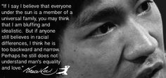 Bruce Lee was the greatest