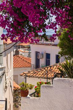Skiathos Colours, Skiathos Town, #Greece by Damion Bridson