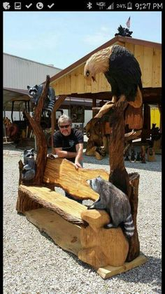 This is a chainsaw carving worth havinf