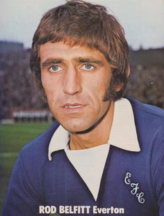 Rod Belfitt Everton 1973