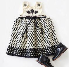 Garden Lattice Jumper #Crochet Kit - so cute!