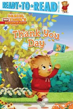 Preparing special notes to place on the Thank You Tree in the Neighborhood of Make Believe, Daniel Tiger and his friends think of various polite ways to express their gratitude to those who help them.