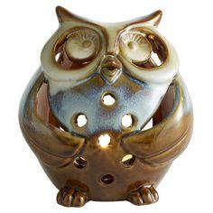 Ceramic Owl Tealight Holder