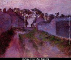 At Saint-Valery-sur-Somme - Edgar Degas - www.edgar-degas.org